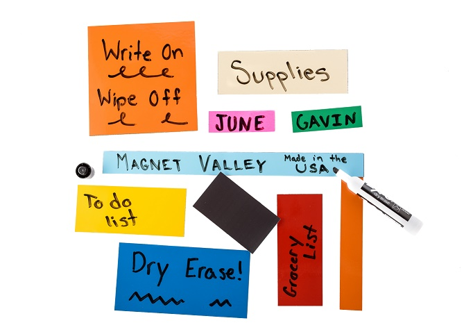 >>> Shelf Label Dry Erase Magnets