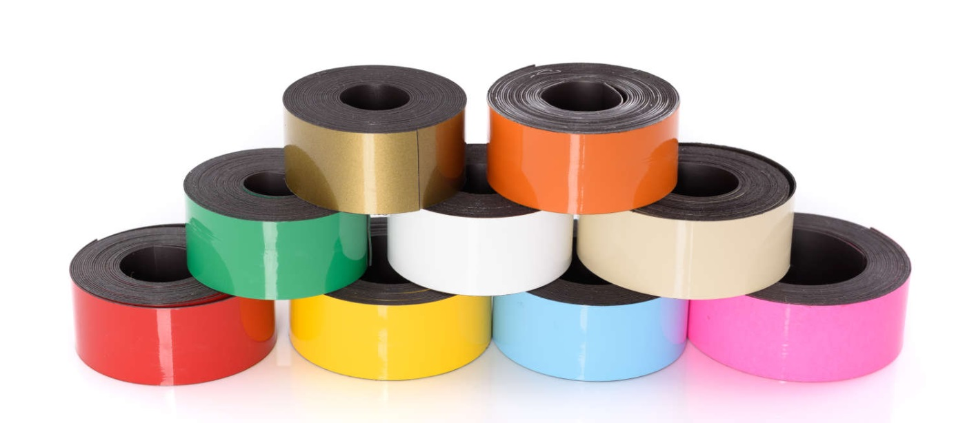 >>> Dry Erase Magnetic Strip Rolls