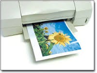 "Thick Inkjet Printable Magnetic Paper 8.5"" x 11"" (20-24 mil) Print on Magnet"